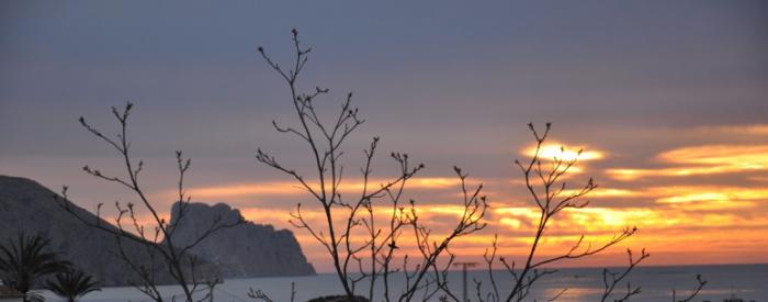 foto zicht over zee voor het gedicht Schrijf voor mij van Maria Miraglia